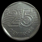 25 Centimes real 1995